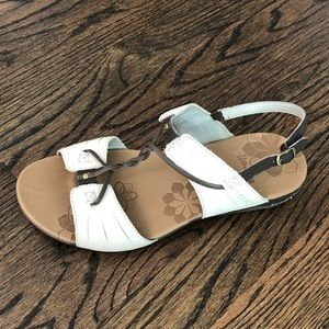 Merrell white gladiator sandals